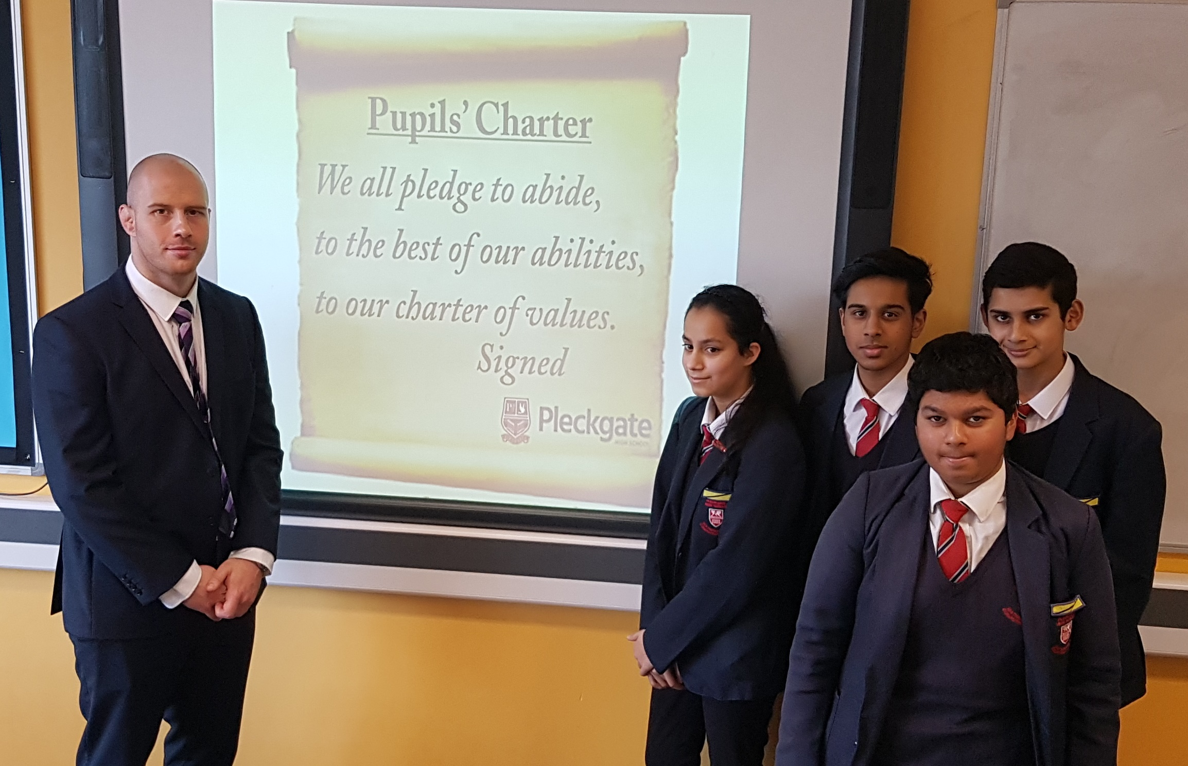 Pupils' Charter – Blackburn with Darwen Schools