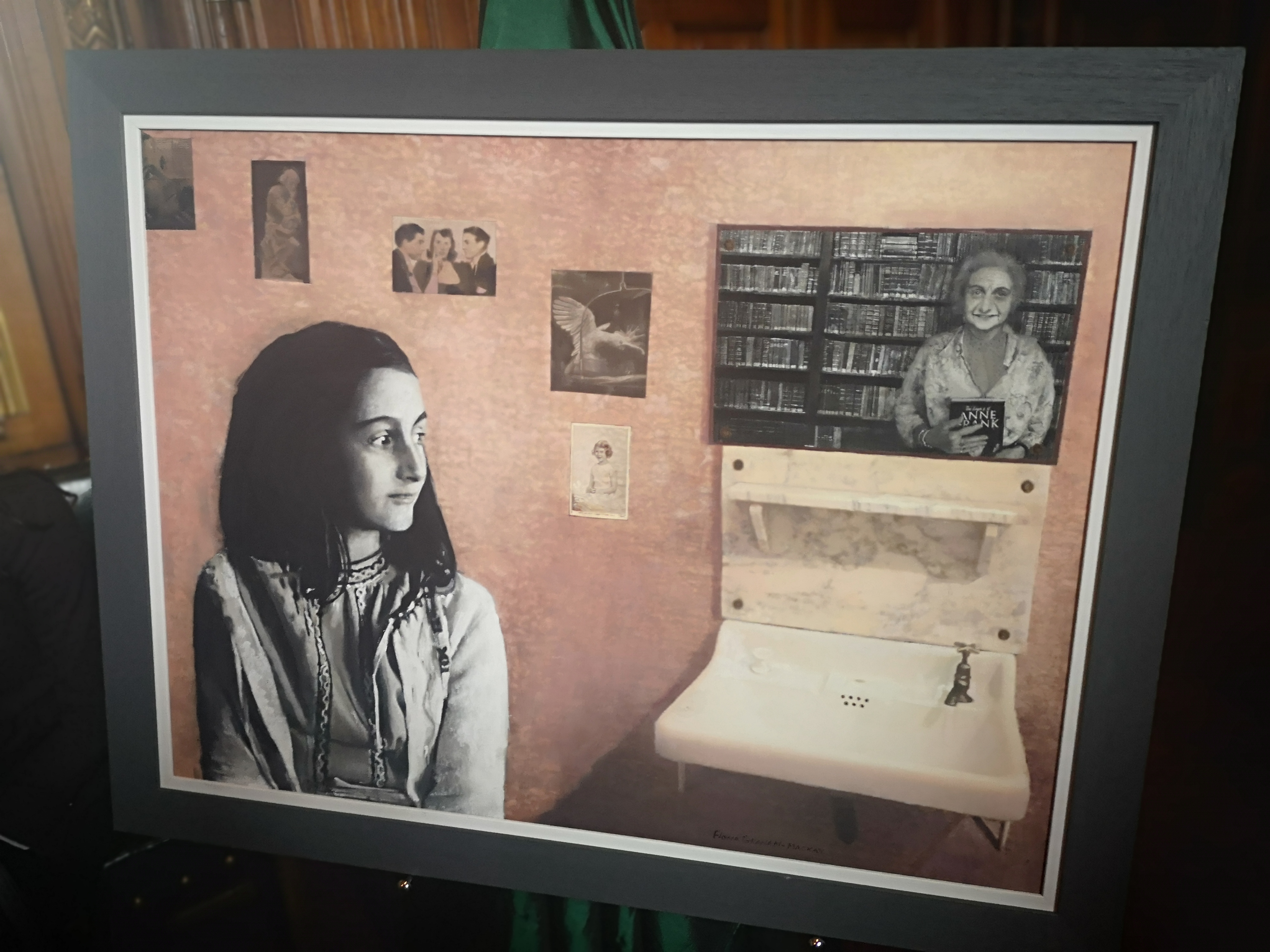 Anne Frank Reception – #IstandwithAnne
