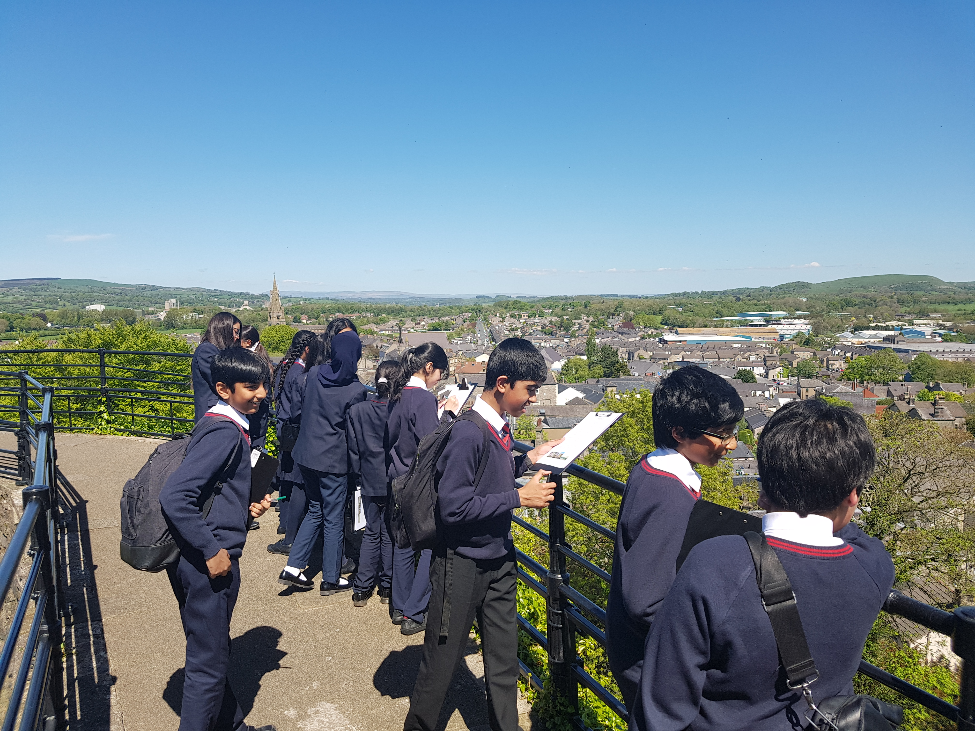 Clitheroe Castle Year 7 Trip