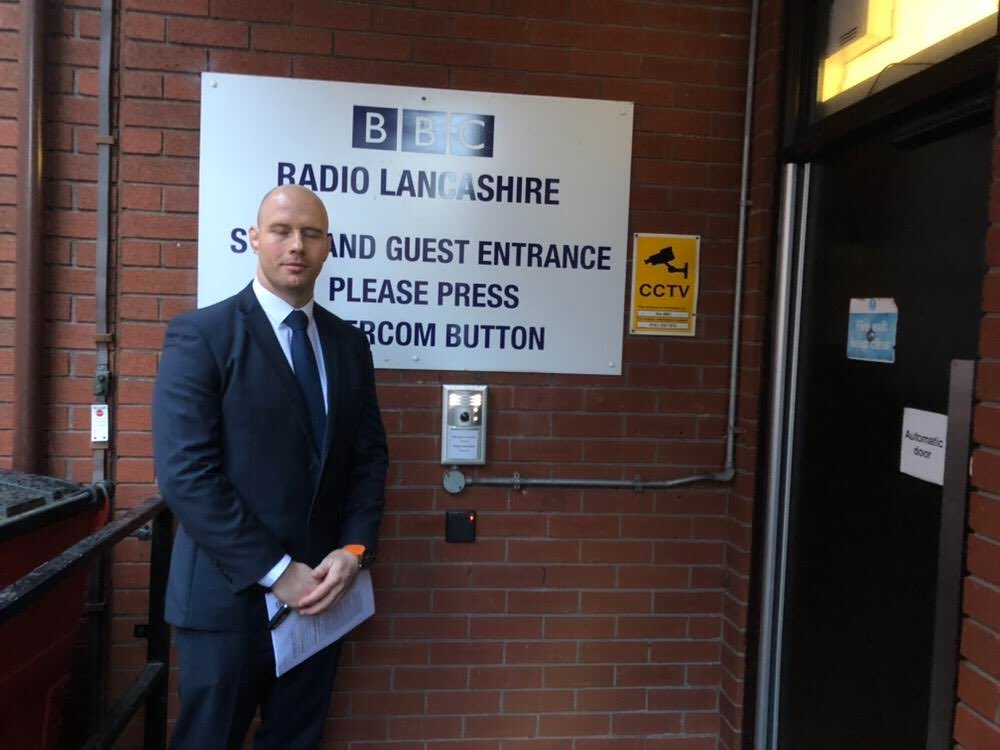 Mr Cocker appears on BBC Radio Lancashire
