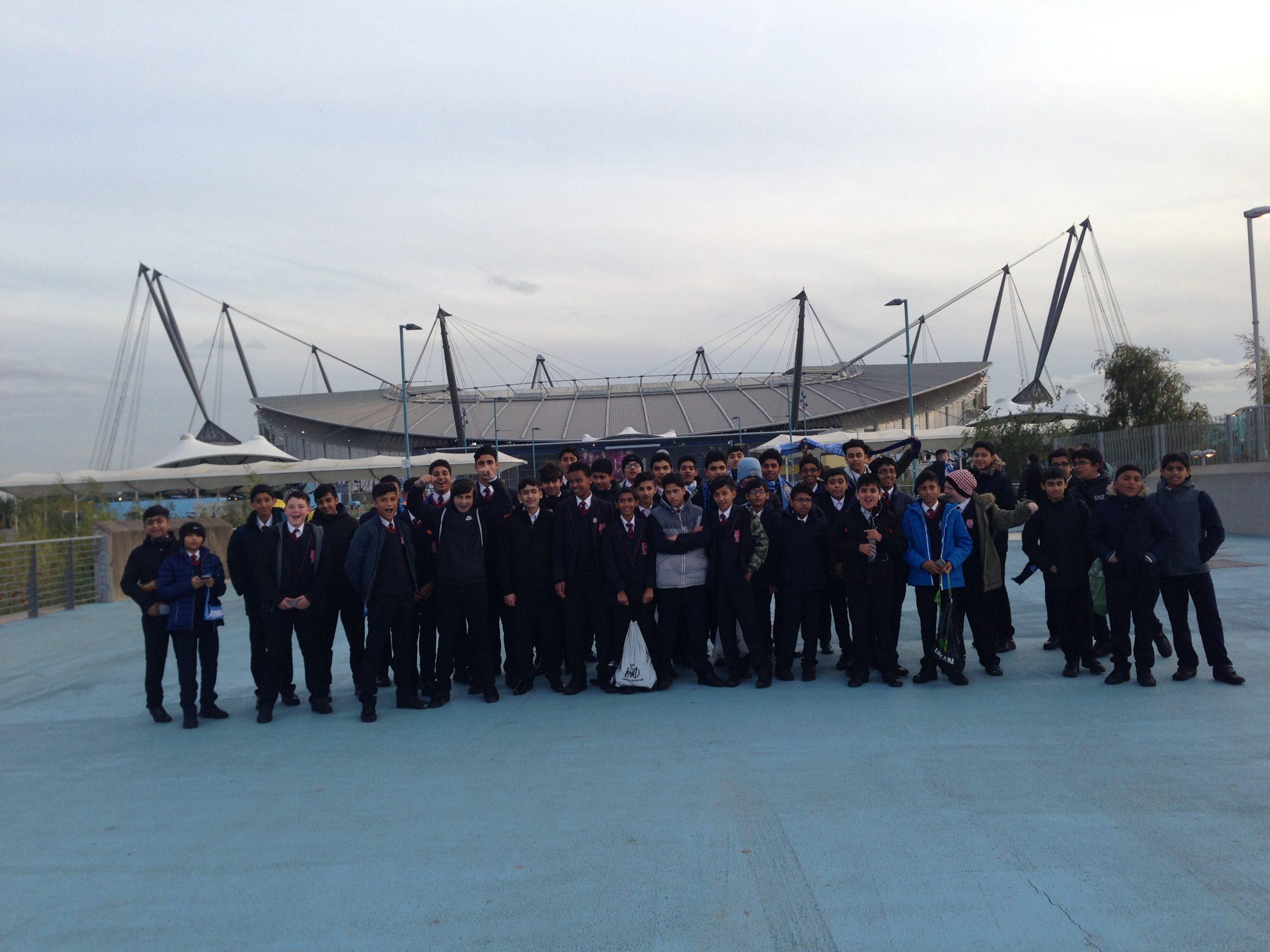 Visit to Etihad Stadium