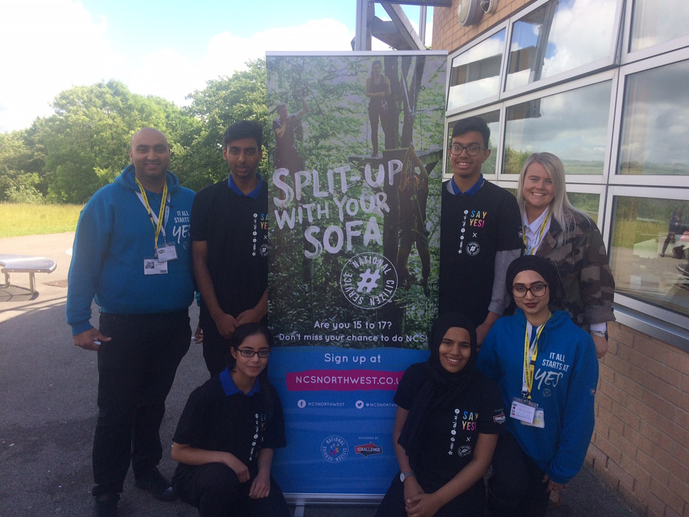 Split up with your Sofa! – National Citizen Service Programme