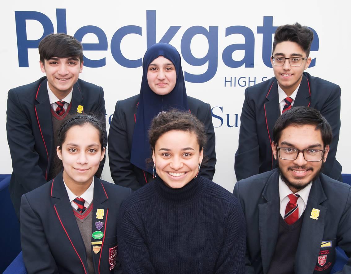Oxford University visit to Pleckgate