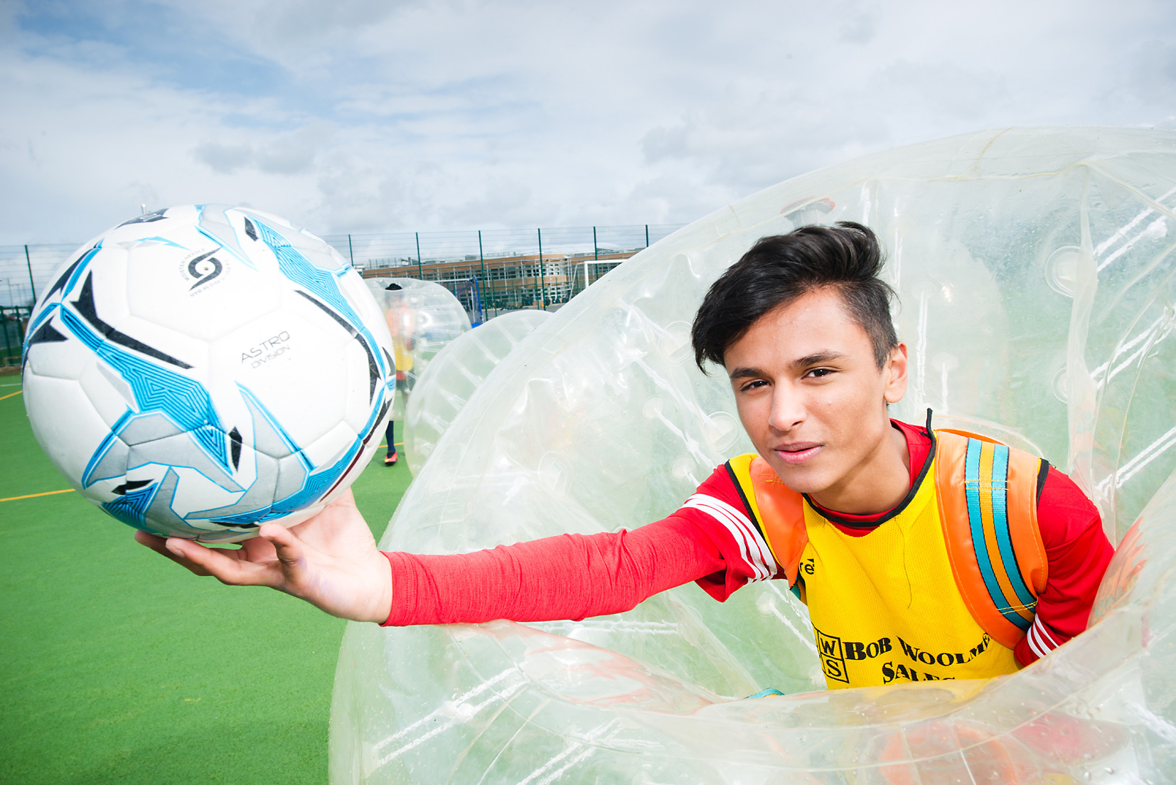 Zorbing for Comic Relief